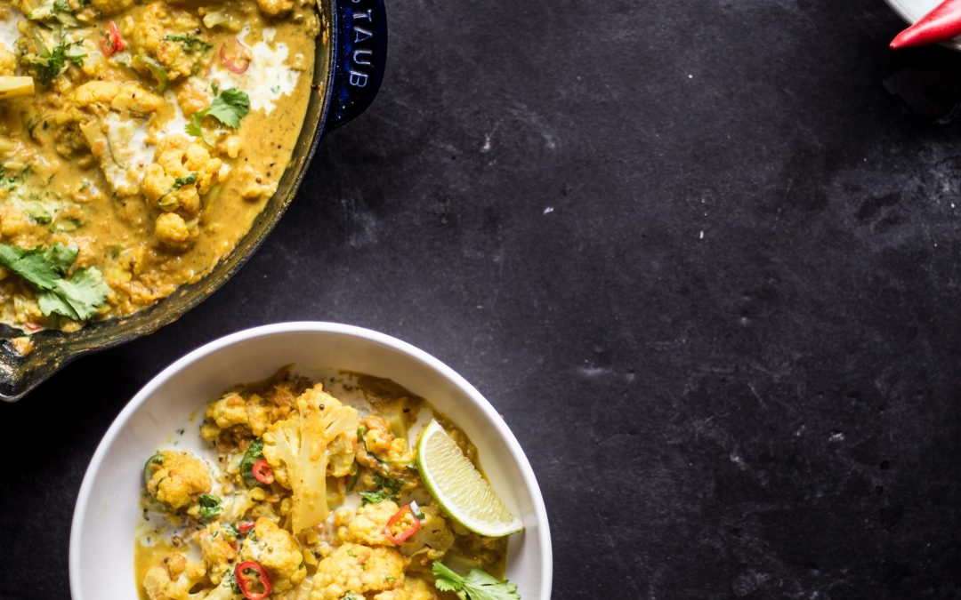 Paleo Cauliflower and Yam Curry