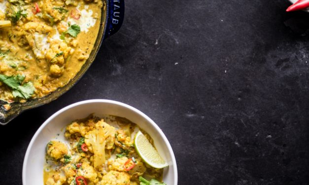 Paleo Cauliflower and Yam Curry