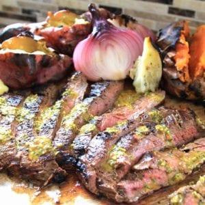 Paleo Grilled Flank Steak