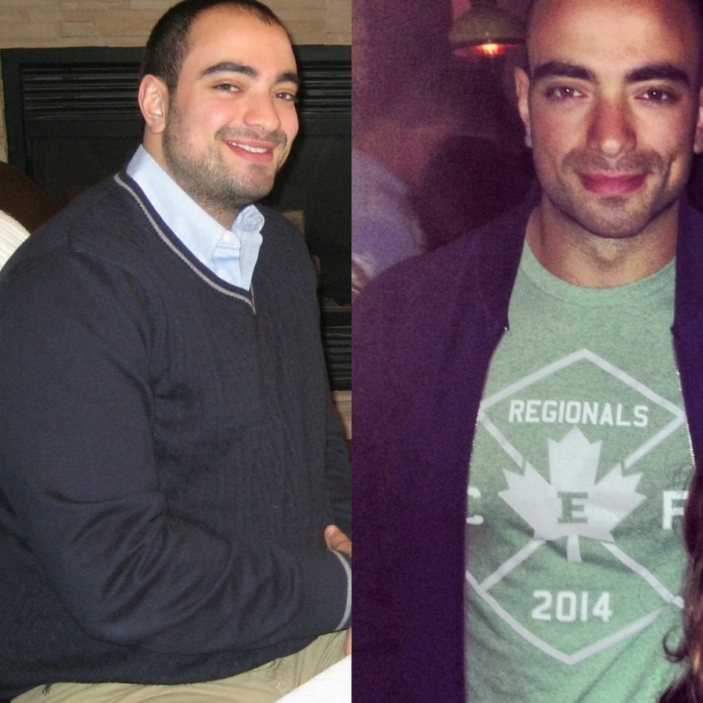 Paleo Before and After Transformation