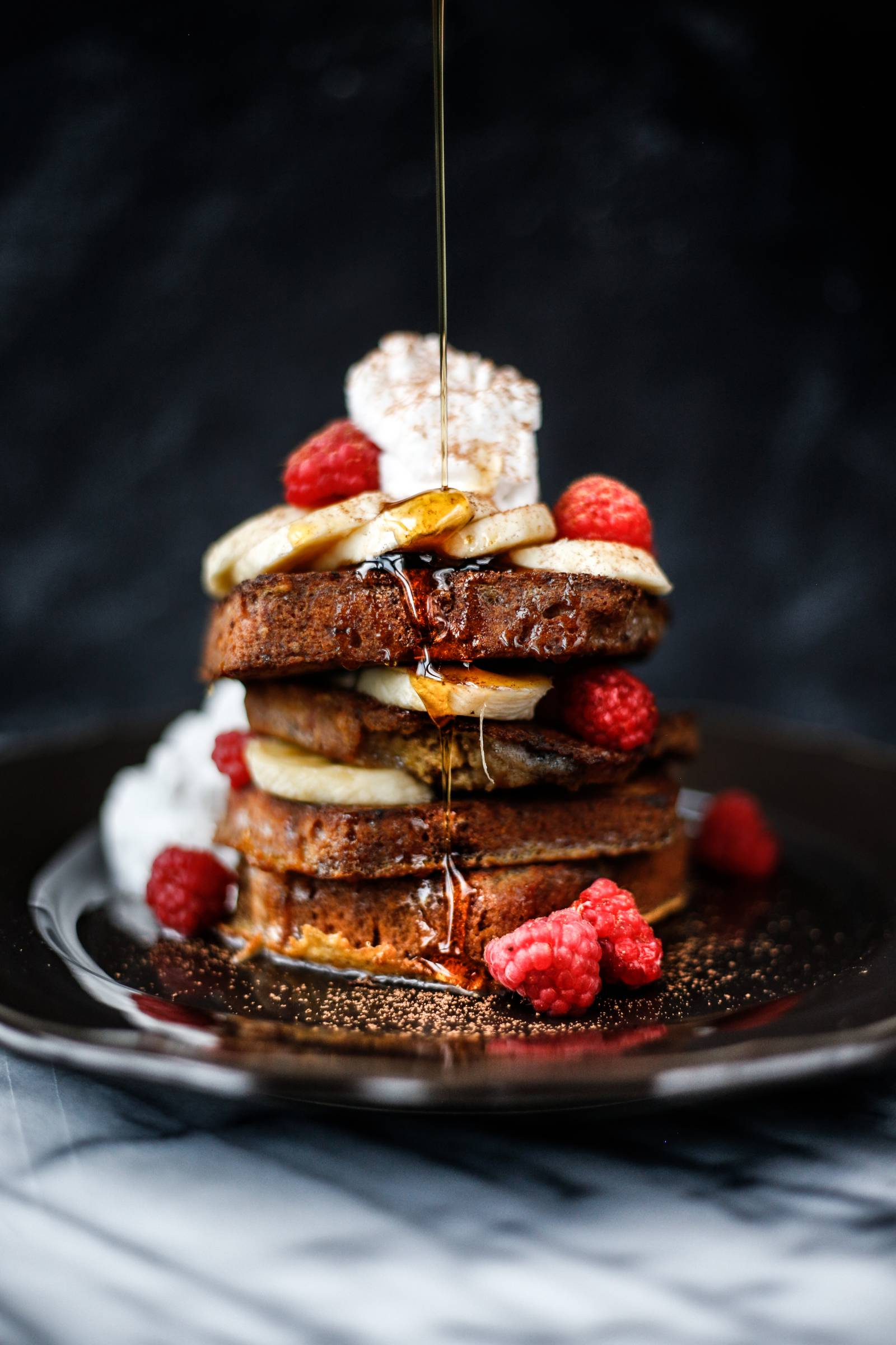 Paleo Banana Bread French Toast