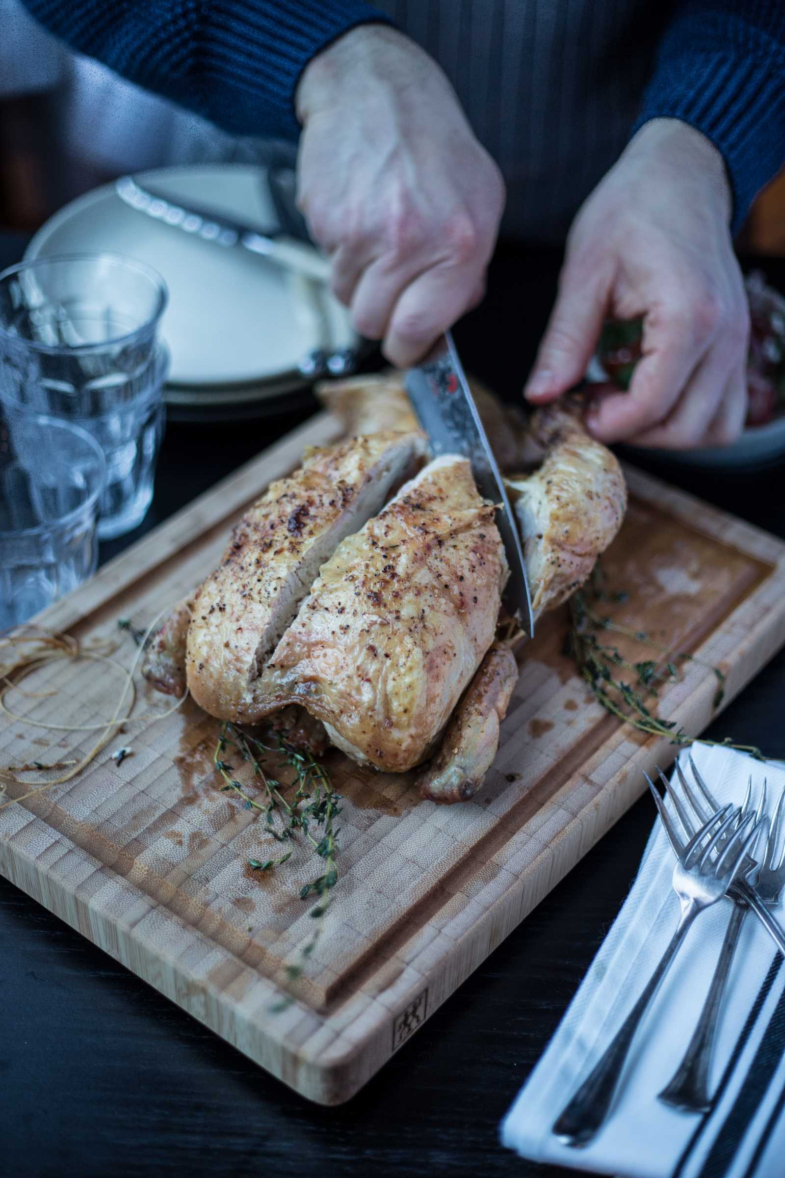 Lemon and Thyme Roast Chicken