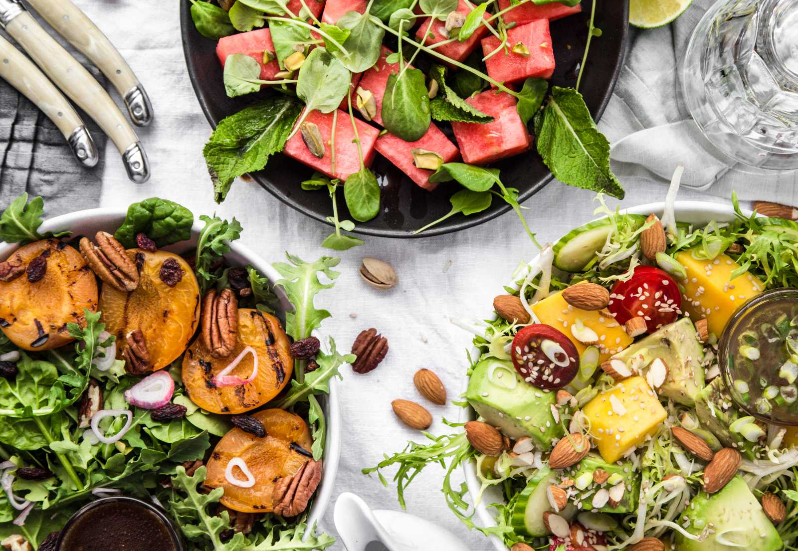 3 'Fruit + Nut' Salads to Make This Summer