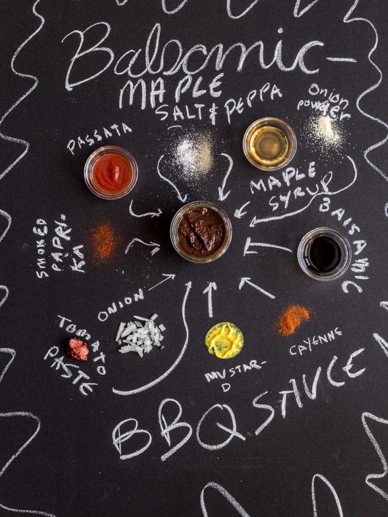 Paleo Balsamic Maple BBQ Sauce Primal Gourmet homemade organic