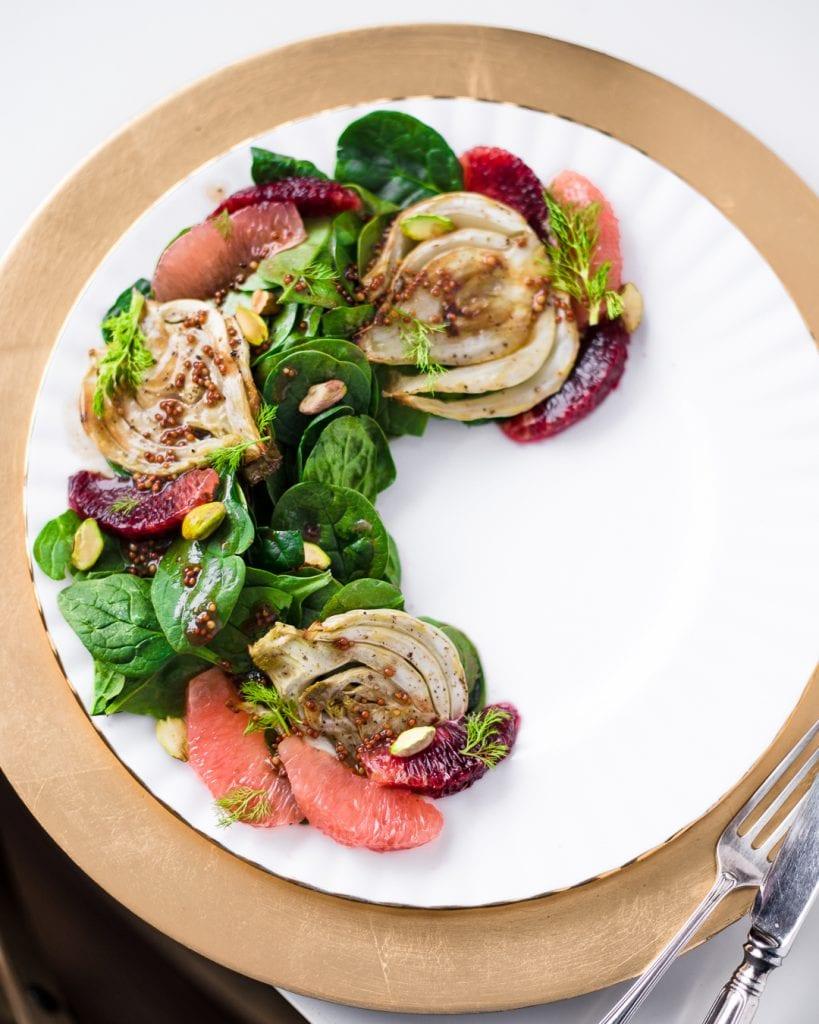 Fennel Citrus Salad Primal Gourmet Healthy Vegan Recipe Ideas
