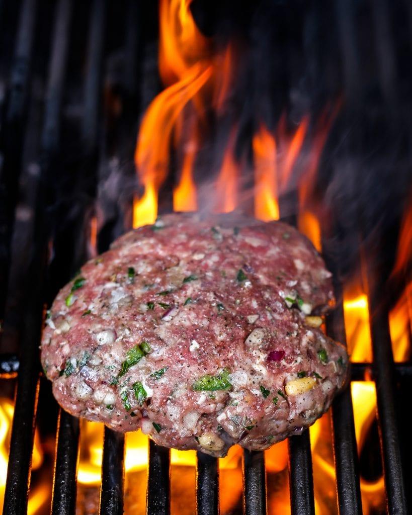 Whole30 Greek Burgers Paleo Primal Easy Summer BBQ Recipe