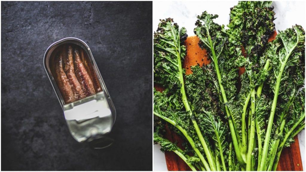 grilled kale caesar salad primal gourmet paleo whole30 easy bbq