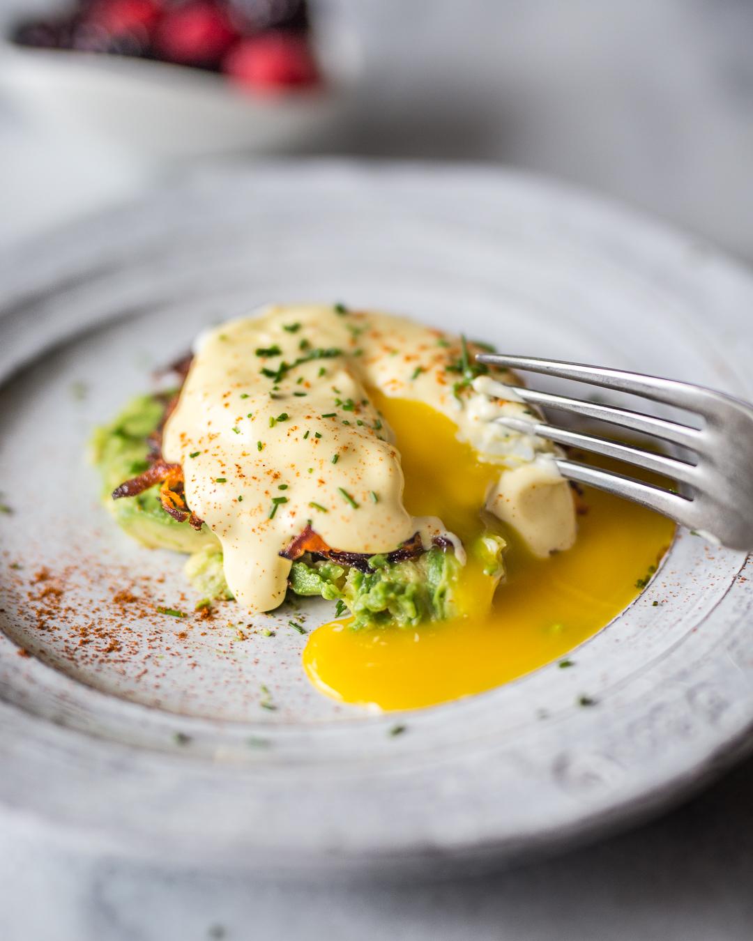 Paleo Eggs Benedict Whole 30 Primal Gourmet Easy Fool Proof Hollandaise