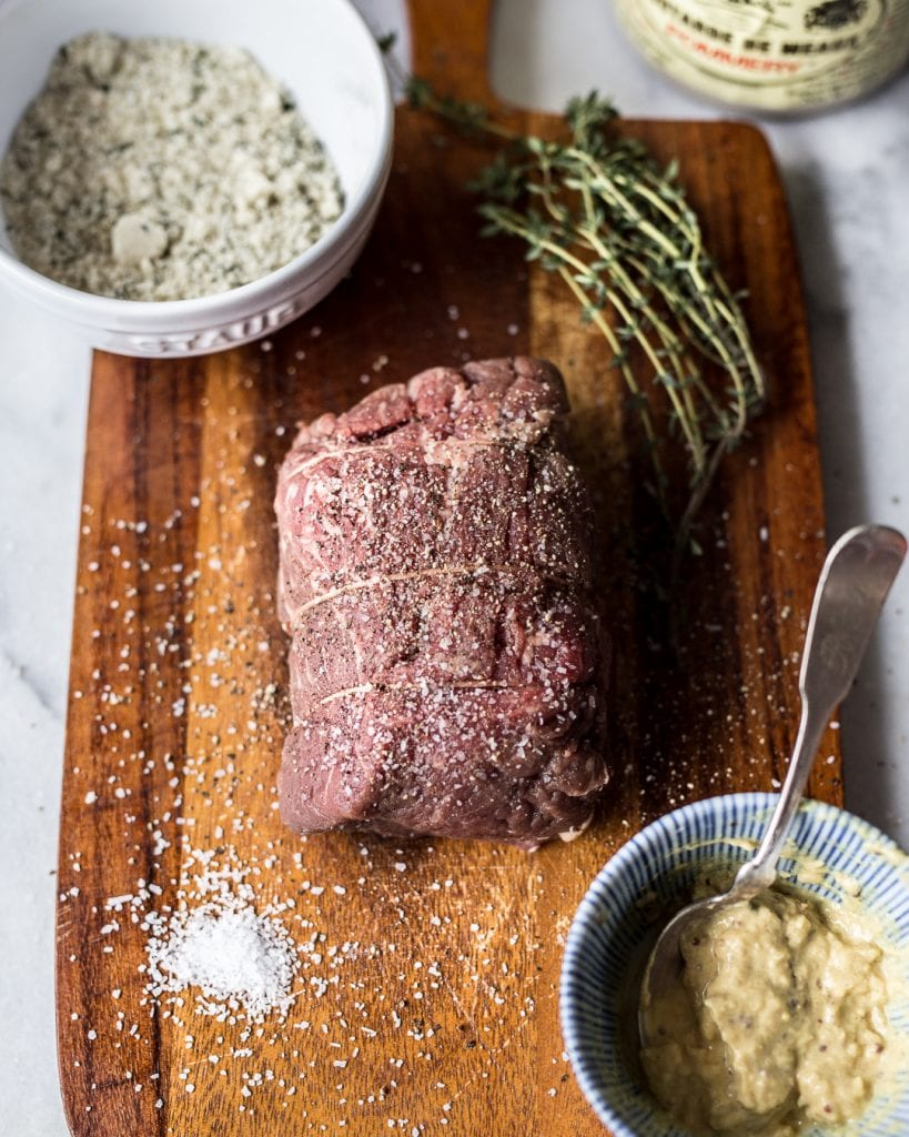 Herb & Almond Crusted Beef Tenderloin Paleo Primal Gourmet Whole30 Holiday Recipe
