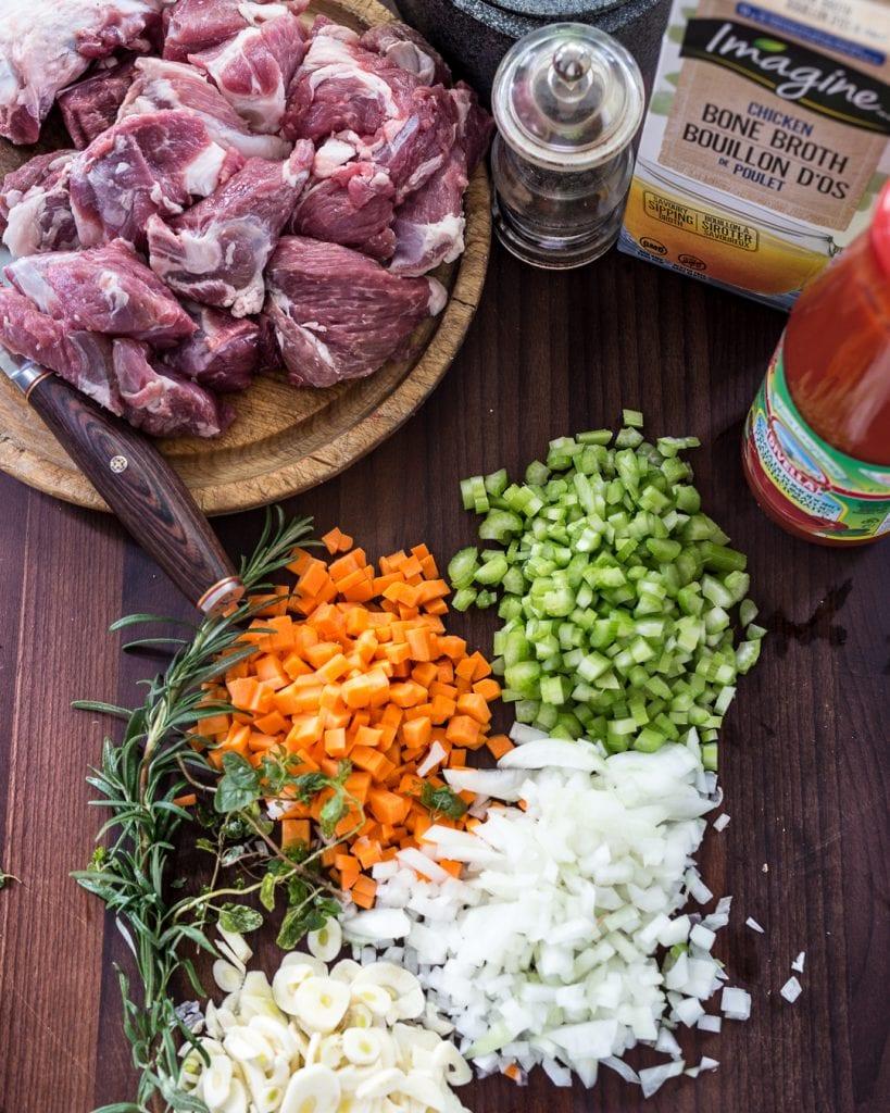 Instant Pot Lamb Ragu Paleo Whole30 Healthy Easy Recipe