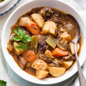 Whole30 Beef Stew Primal Gourmet Paleo Healthy Easy Recipe