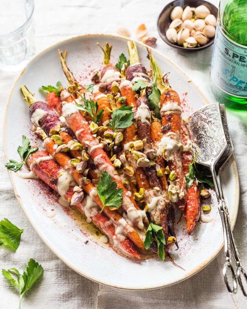 Harissa Honey Roasted Carrots Paleo Primal Gourmet Easy Recipe