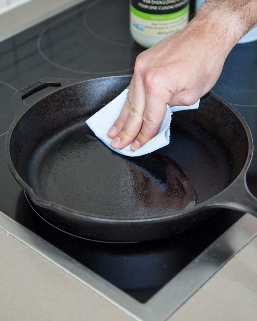 How to Season Cast-Iron Skillet Easy Primal Gourmet Whole30