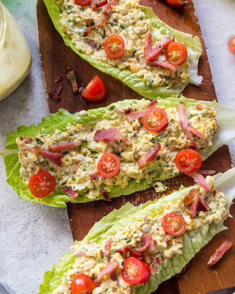 BLT Egg Salad Sammies Whole30 Primal Gourmet Easy