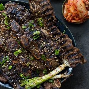 Paleo Grilled Short Ribs Primal Gourmet Easy TFal OptiGrill Recipe