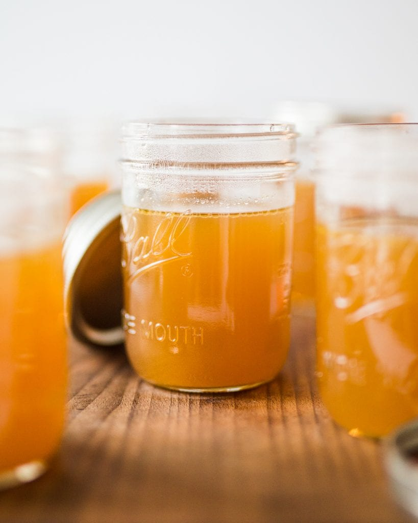 Homemade Chicken Bone Broth Whole30 Paleo Primal Gourmet Easy
