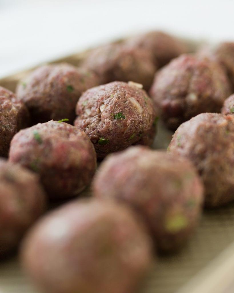 Whole30 Salisbury Meatballs with Onion Gravy Paleo Primal Gourmet Easy Recipe