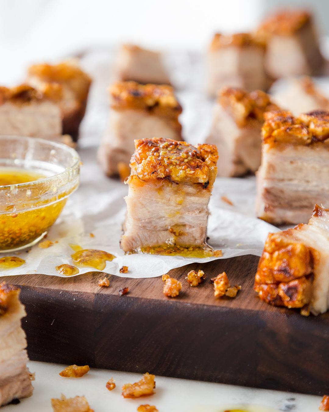 Roast Pork Belly Whole30 Paleo Primal Gourmet Easy Crackling