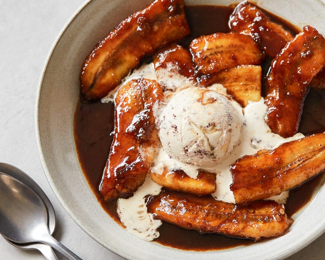 Dairy-Free Bananas Foster Paleo Primal Gourmet Easy New Orleans Dessert