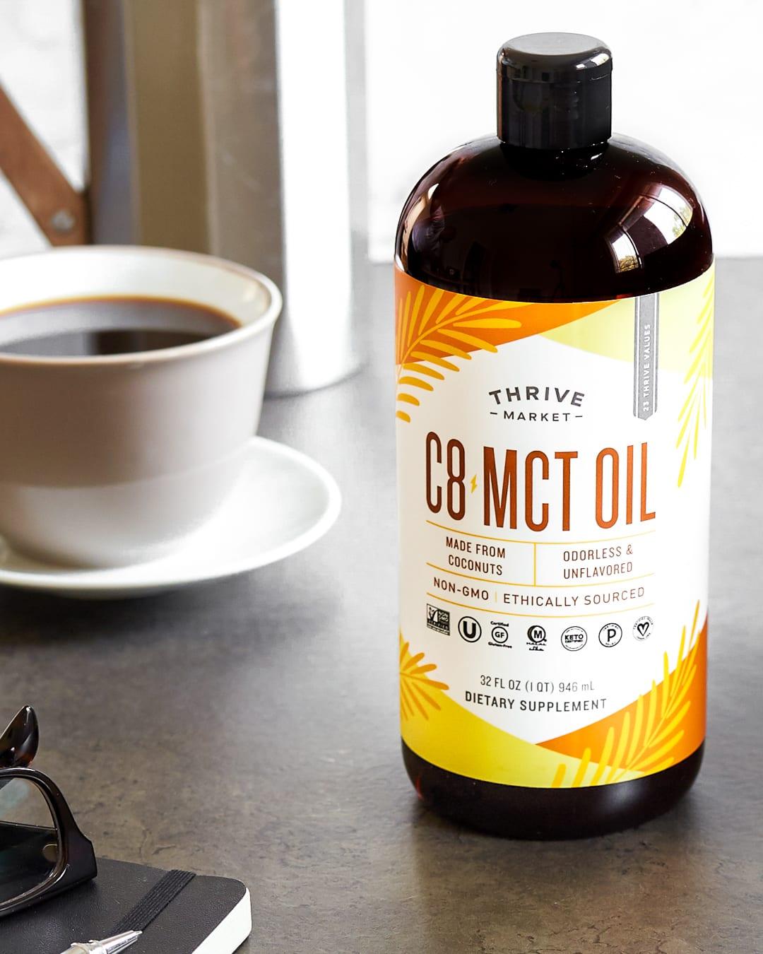 Thrive Market C8 MCT Oil Primal Gourmet Paleo Whole30