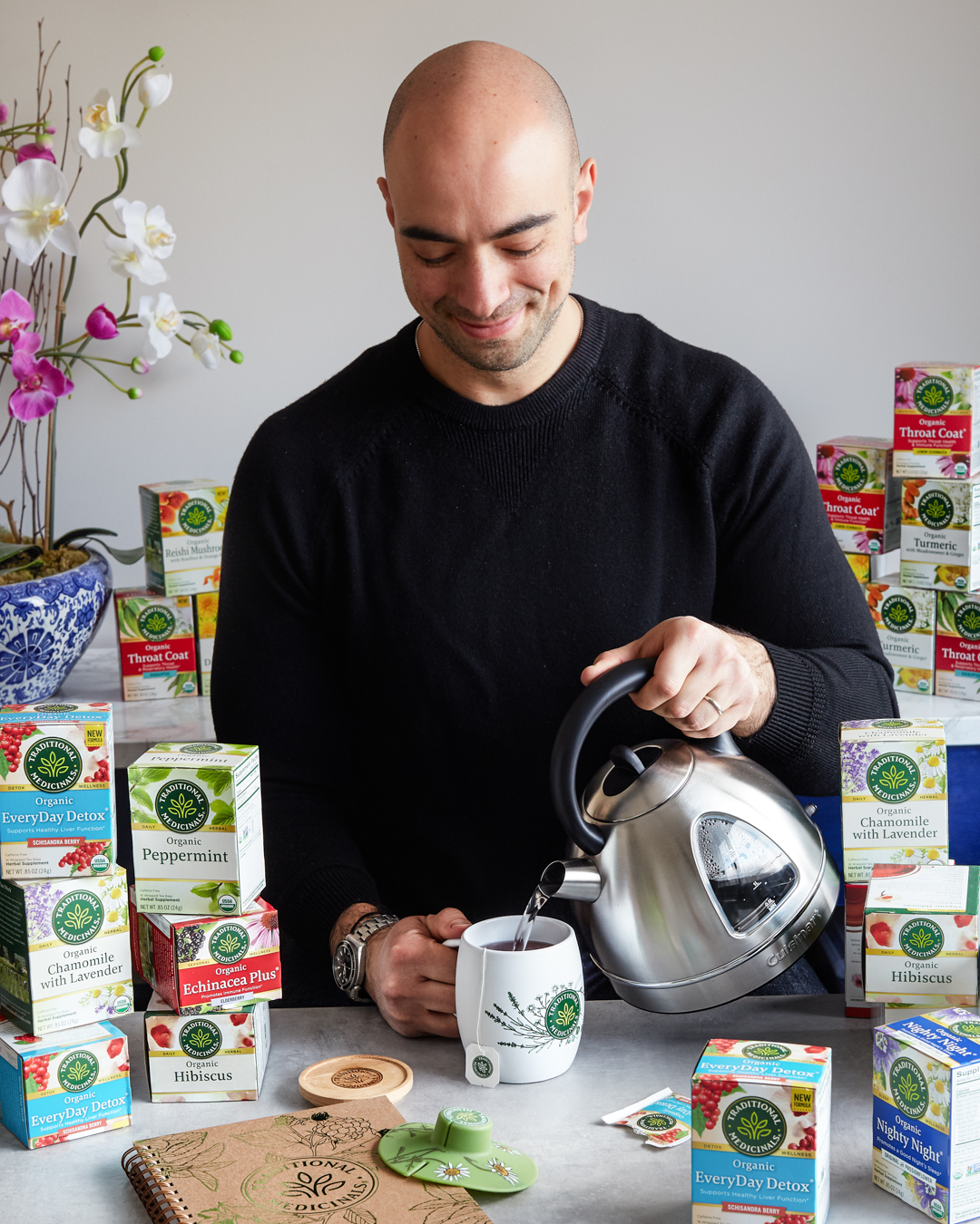 Traditional Medicinals One-Year Supply Tea Giveaway Primal Gourmet January Whole30