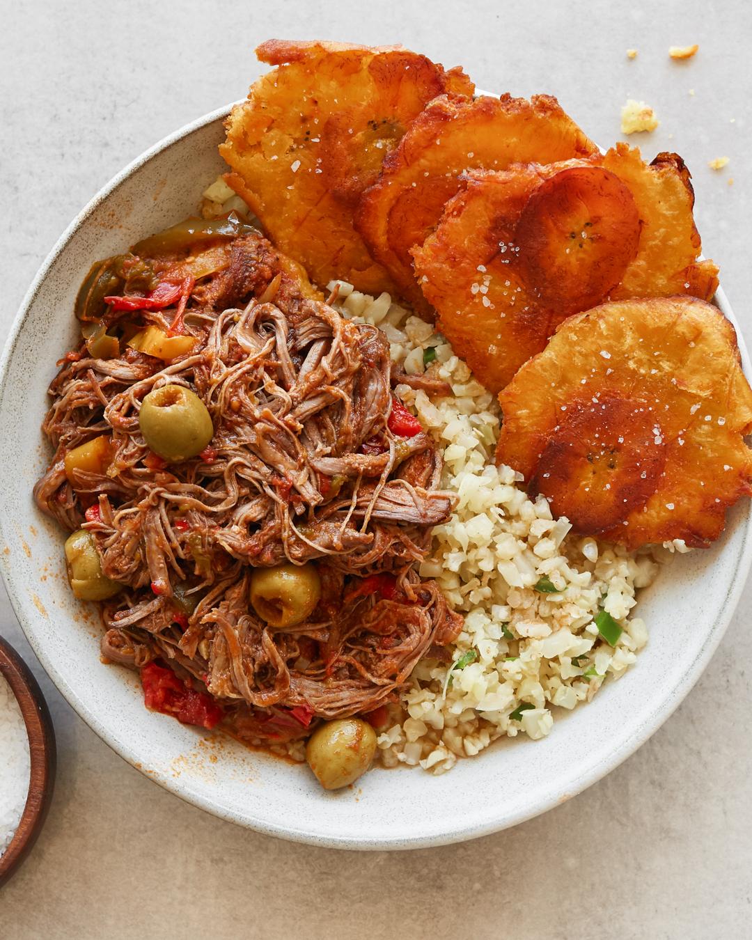 Whole30 Ropa Vieja Paleo Primal Gourmet Easy Cuban Recipe Shredded Beef