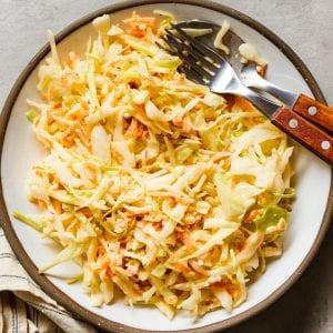 Basic Coleslaw Recipe Easy Paleo Primal Gourmet Cabbage