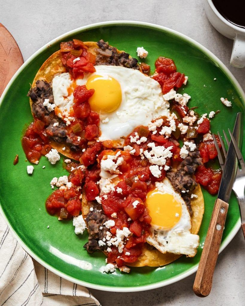 Easy Huevos Rancheros Recipe Primal Gourmet Pantry Friendly Authentic Mexican Breakfast