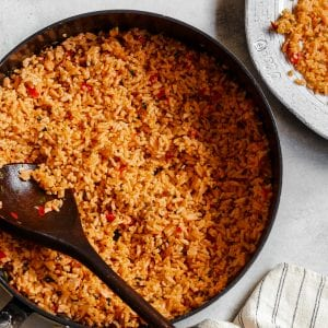Easy Mexican Rice Recipe Arroz Rojo Spanish Rice Red Rice Primal Gourmet