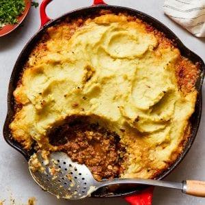 Shepherd's Pie whole30 Paleo Primal Gourmet Gluten Free Easy Casserole Recipe