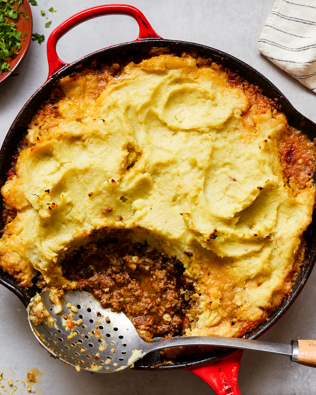 Shepherd's Pie whole30 Paleo Primal Gourmet Gluten Free Easy Casserole Recipe
