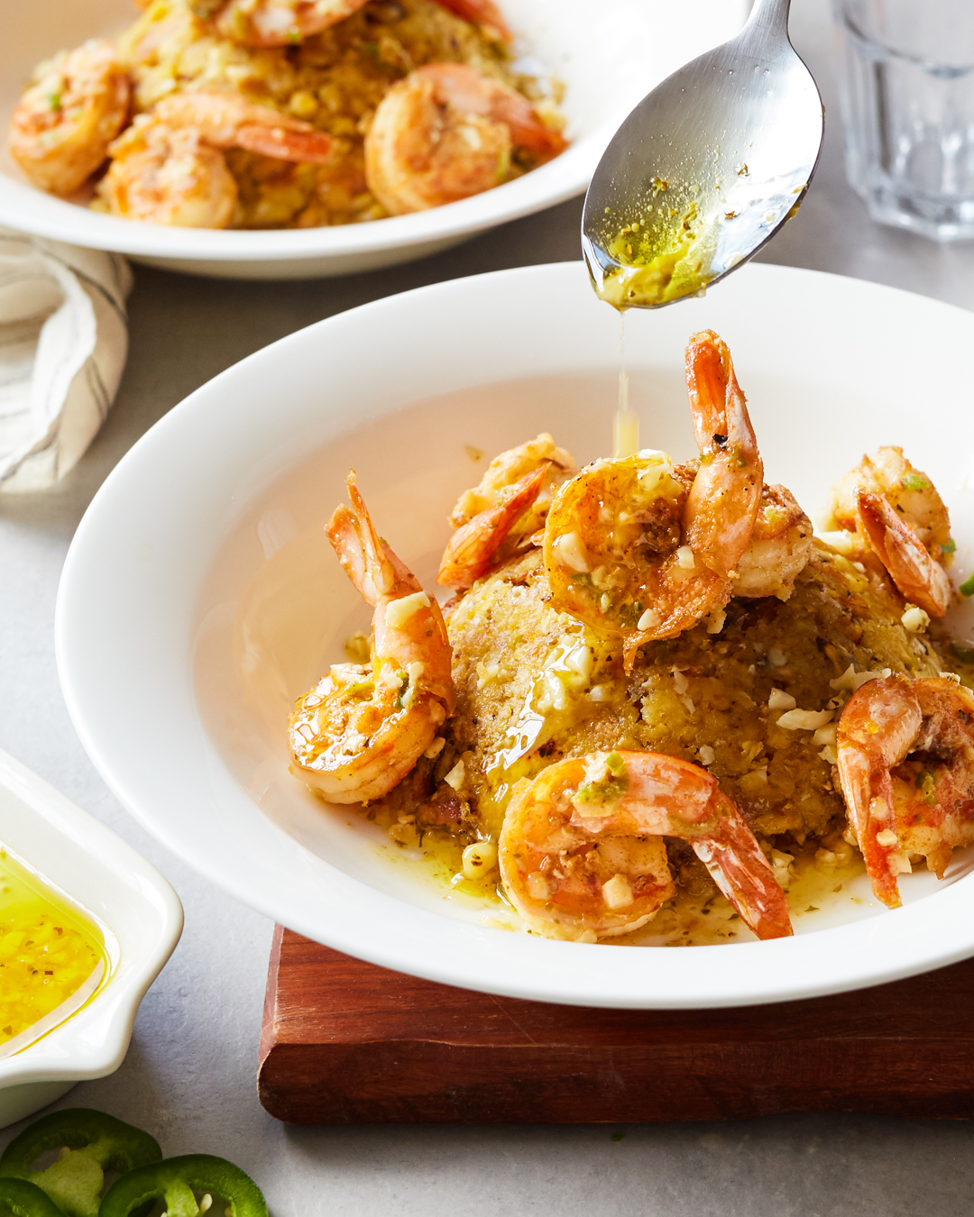 Mofongo with Mojo Shrimp - Whole30, Paleo