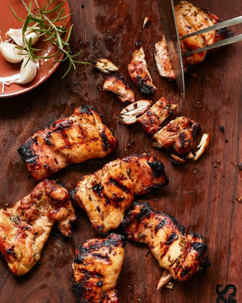 Grilled Rosemary and Orange Honey Garlic Chicken Paleo Primal Gourmet Whole30 Recipe