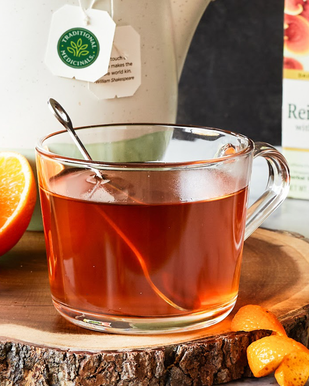 Reishi Mushroom with Rooibos and Orange Peel – Traditional Medicinals