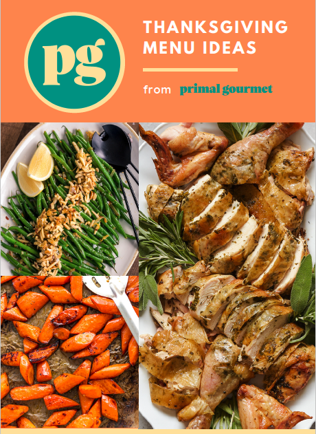 Primal Gourmet Thanksgiving Menu eBook 2