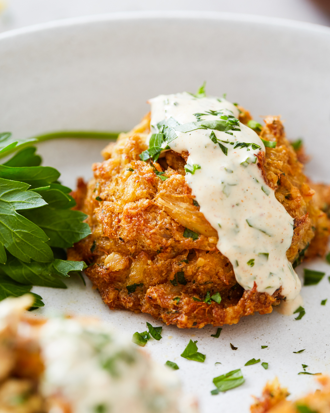 Best Ever Grain-Free Crab Cakes with Dijonnaise