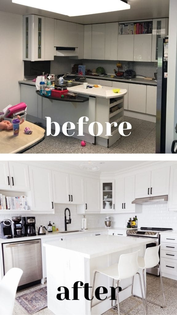 Kitchen Before and After Renovation Primal Gourmet