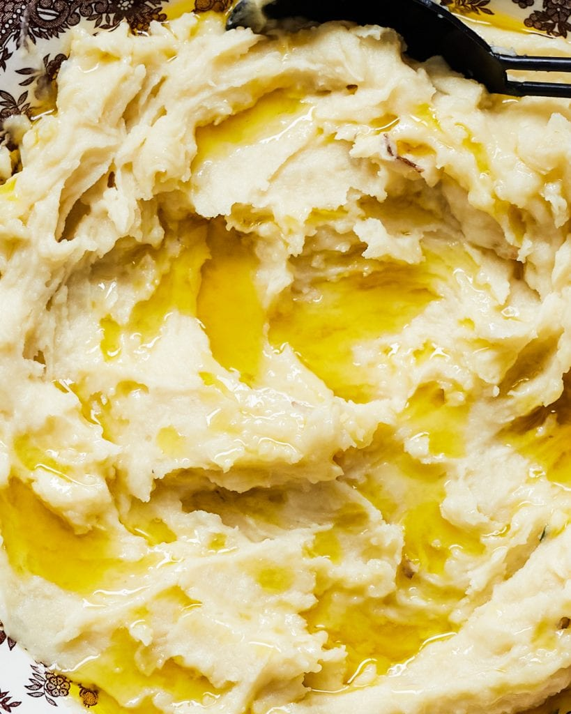 Creamy Dairy Free Mashed Potatoes Primal Gourmet Whole30