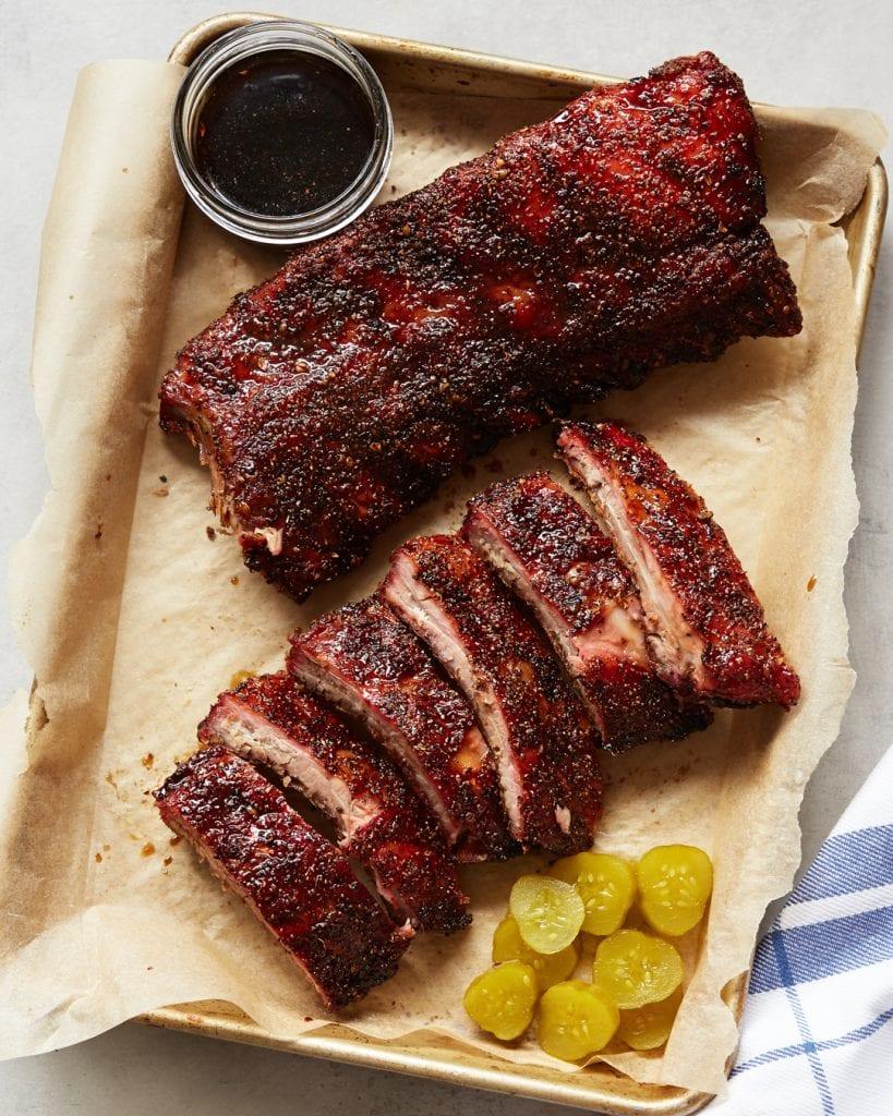 Smoked Ribs 3-2-1 Method Paleo Primal Gourmet BBQ Recipe