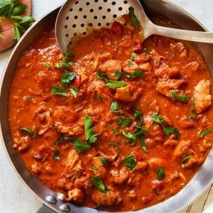 Whole30 Chicken Paprikash Paleo Gluten-Free Primal Gourmet Easy Dinner Recipe