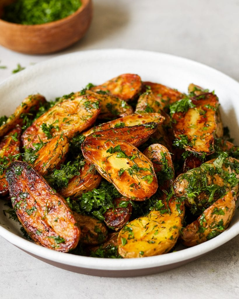 Roasted Garlic and Herb Potatoes Whole30 Primal Gourmet Recipe