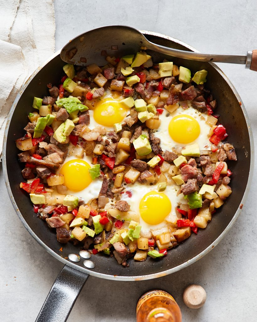 Whole30 Leftover Roast Beef Hash Pale Primal Gourmet Easy Breakfast Recipe