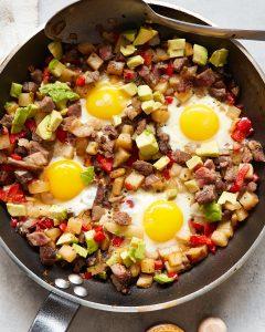 Whole30 Leftover Roast Beef Hash Pale Primal Gourmet Easy Breakfast Recipe