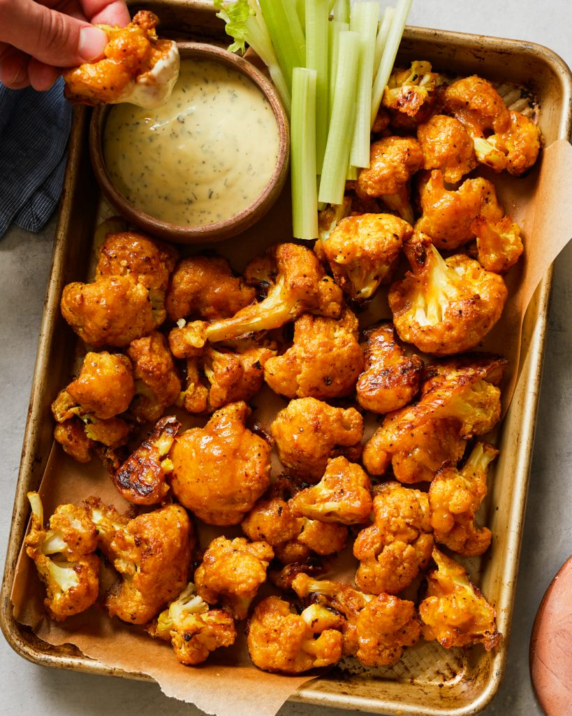 Baked Buffalo Cauliflower Bites Paleo Primal Gourmet Easy Recipe