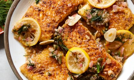 Whole30 Fish Piccata – Paleo