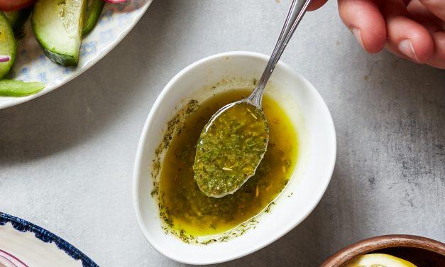 Lemon Dill Vinaigrette (Whole30 & Paleo)