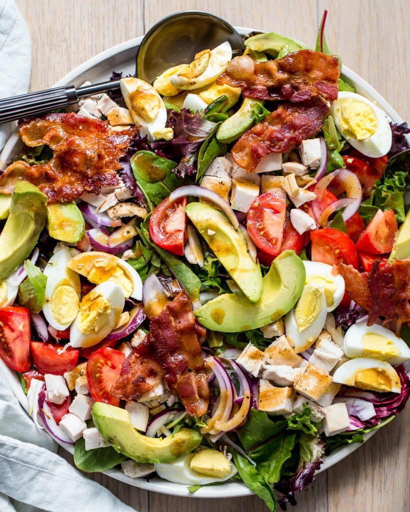 Chicken Cobb Salad Paleo Primal Gourmet Easy Dinner Idea