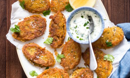 Cod Fritters with Garlic Aioli