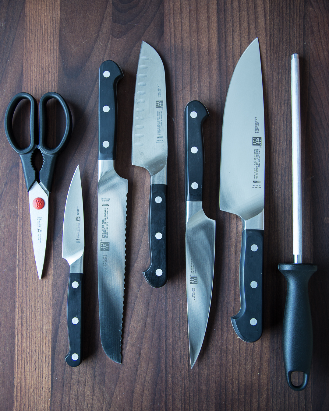 Giveaway Zwilling Pro 8pc Block Set Knives