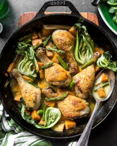 Thai Braised Curry Chicken Paleo Primal Gourmet Whole30 Healthy Recipe Easy